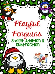 Penguin 3-digit add-subtract